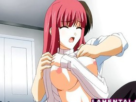 Manga girl receives her wet pussy licked n fucked