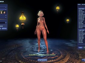 Blade and Soul In nature's garb Mod Character Creation