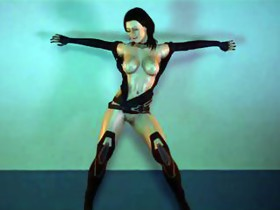Miranda Lawson hawt dancing (Mass Effect)