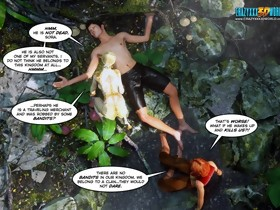 3D Comic: Legacy. Movie scenes 28-29.