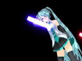 MMD Hawt Blue Hair Playgirl with Marital-device in..