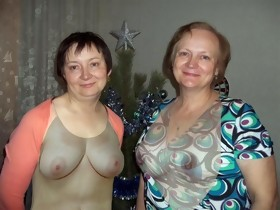 Clothed Undressed! Mature Mommy and not daughter! Animation!