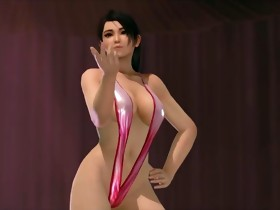 Dead or alive momiji poledance