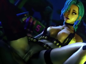 SFM League of Legends - Jinx Loop 2 by 1kmspaint