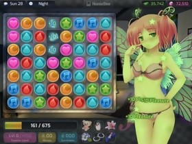 GAME - HuniePop Kyu bedroom stage