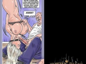 Sex Comic Book Sexy Blonde Boss Fastened up And Screwed..