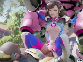 Overwatch heroes receive drilled nicely and raw