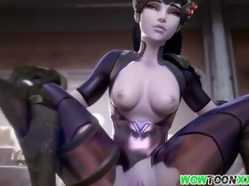 Hot arse Widowmaker sex compilation for fans